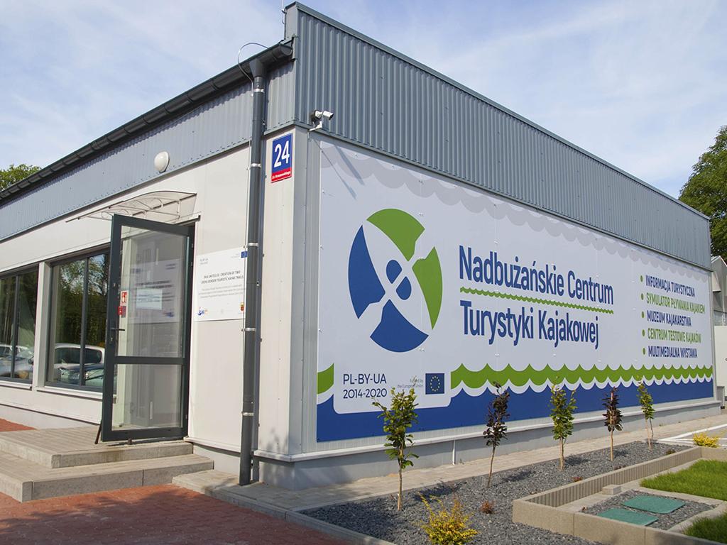 Budynek Nadbużańskiego Centrum Turystyki Kajakowej